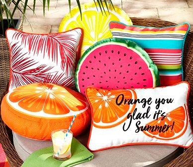 Get ready for patio season with some of the cutest cushions we ever did see! @WalmartCanada has you covered for all your #spring needs! #ClientLove  #patio #decor #homedecor #patiodecor #cushions #patiocushions #outdoors #entertaining #pillows #outdoorpillows #pretty #modern #bright #fun