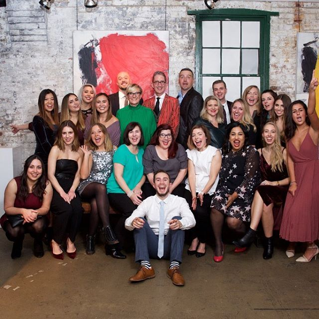 This past Saturday, @APEXPR #celebrated its 20th anniversary! So many #amazing things have happened over the last 20 years, we can't wait to see what the next 20 have in store! #agency #toronto #workfamily #anniversary