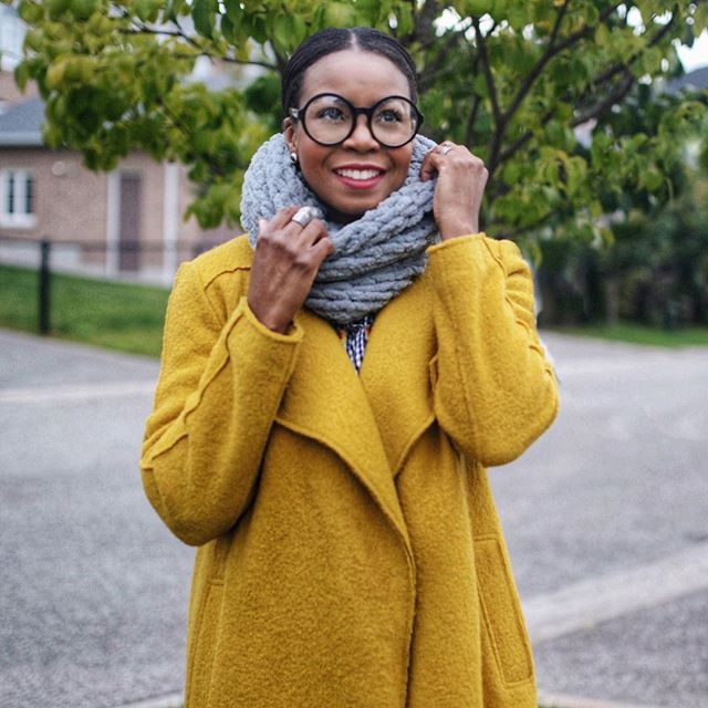 Knitting has never been so easy! Just ask @lovealw who picked up Bernat Alize Blanket-EZ from @walmartcanada and finished this cute scarf in just over an hour! Next up for her, a cozy blanket! Now who wants to do some knitting? #ClientLove #fallseason #knitting #toronto #cute #cozy