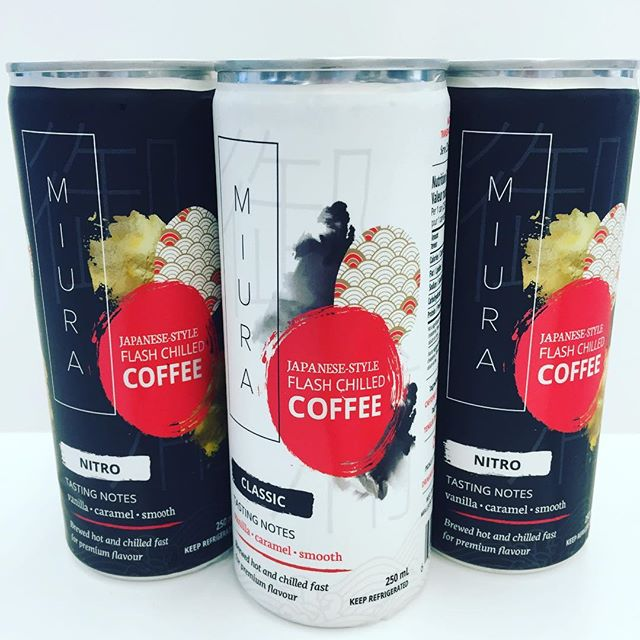 Our designer @vane_cuartasart is pretty talented! Check out her awesome design for @miuracoffee! #coffee #design #toronto #festive #ClientLove